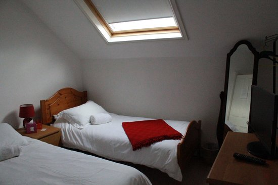 Woodland Guesthouse: A lovely twin room in the attic ~ not suitable for the less mobile