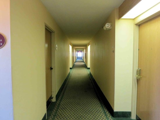 Sleep Inn North Lake : Fifth Floor hallway