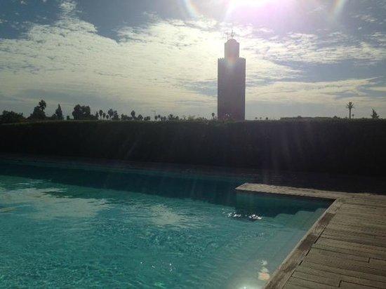 Les Jardins de La Koutoubia : piscina riscaldata