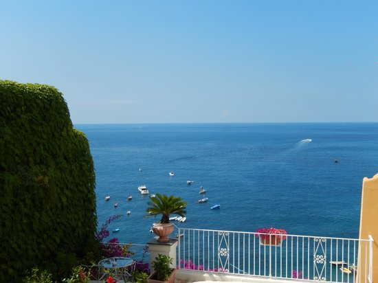 Hotel Ancora: View from the deck