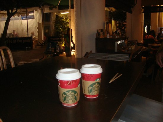 Starbucks: the coffee...