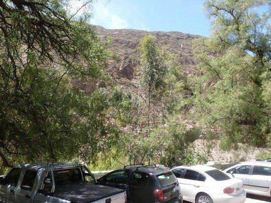 Hotel & Spa Termas Cacheuta : vista desde el hotel