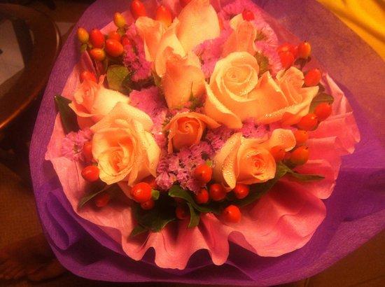 Mandarin Oriental, Kuala Lumpur : My bouquet