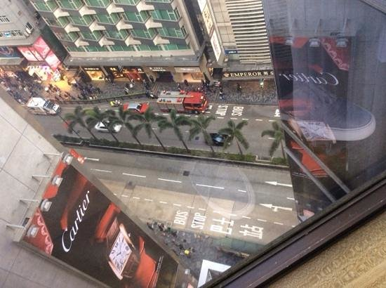 The Kowloon Hotel: view from room