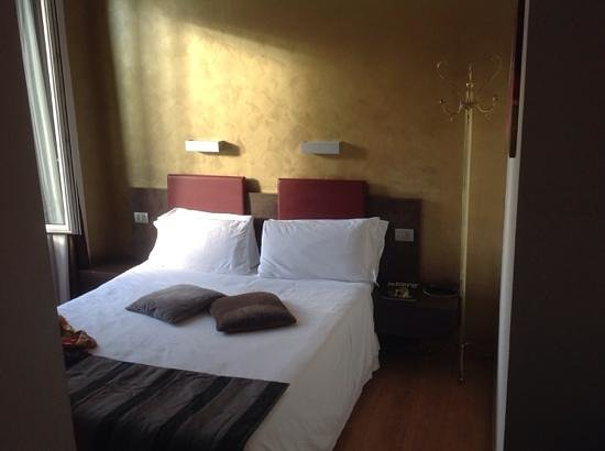 Hotel Trevi : wir haben sehr gut geschlafen