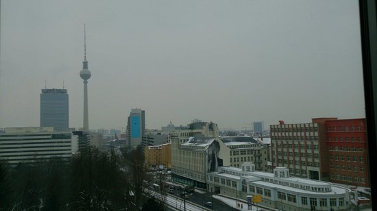 Ibis Berlin Mitte : View from our room on 7th floor