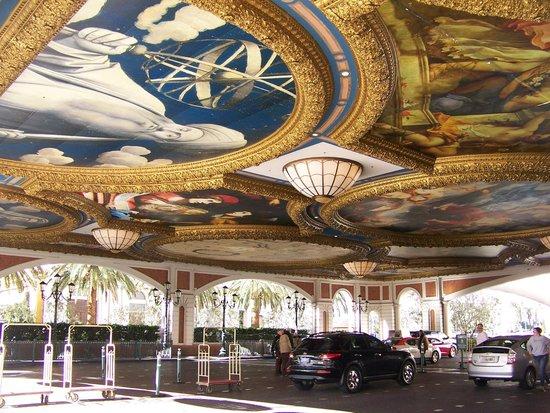The Venetian Las Vegas: Beautiful Ceiling Painting