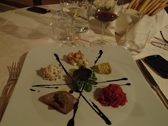 Antico Podere Tota Virginia: The food was a work of art