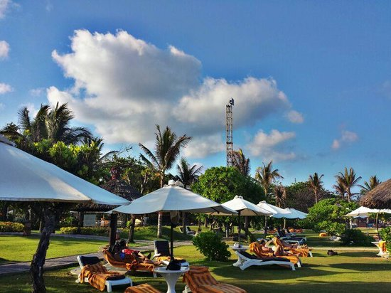 Ayodya Resort Bali: the beach