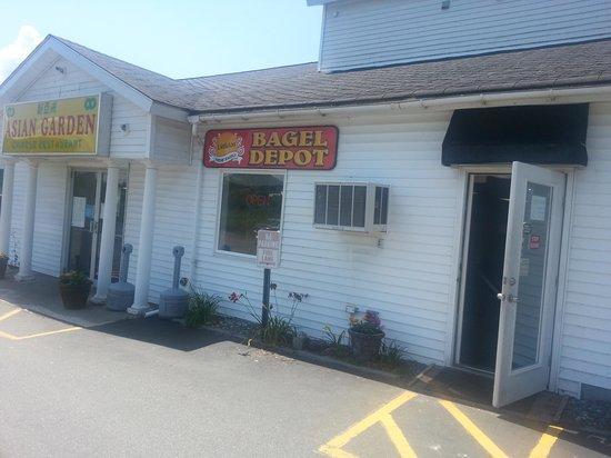 Bagel Depot: Front Door