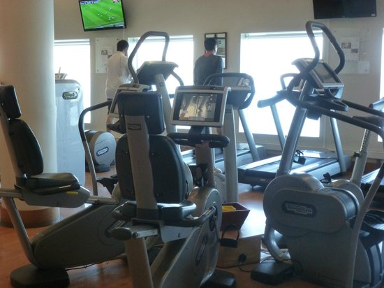 Sheraton Miramar Hotel & Convention Center: muy buenas maquinas