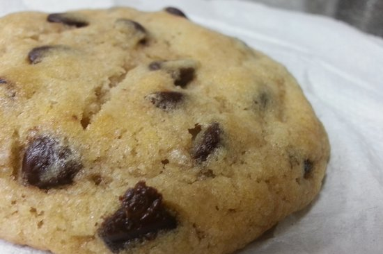 Bagel Depot: chocolate chip cookie