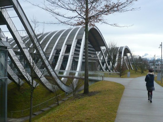 Zentrum Paul Klee (Paul Klee Center): view from outside