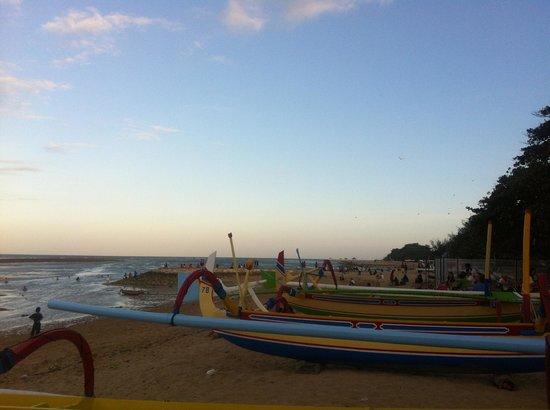 Segara Village Hotel: Beach view