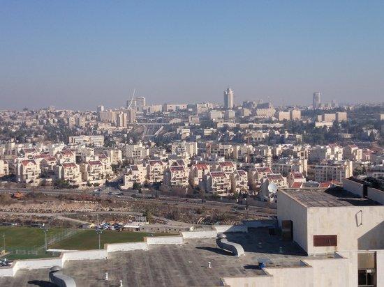 Rimonim Shalom Hotel Jerusalem: Vista de dentro do apartamento