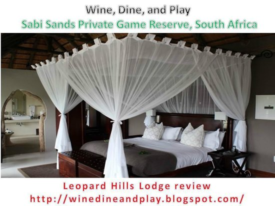Leopard Hills Private Game Reserve: Lodge