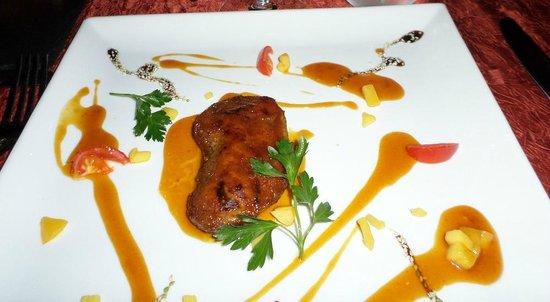 La Villa Restaurant: Foie Gras Appeitizer