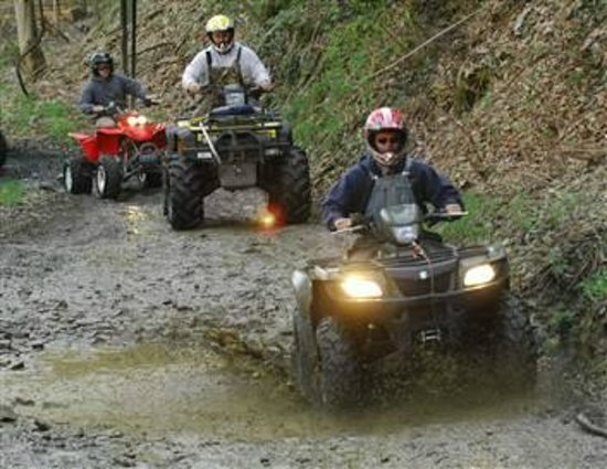 Sweden Valley Hotel & Cabins: Ride the ATV Trails
