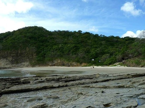 Casa Del Soul: 45 min. walk at lower tide - spectacular.  get naked!