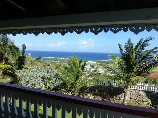 Rock Haven Bed & Breakfast: The view from the terrace to the Atlantic Coast