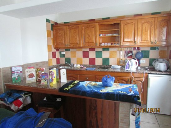 Acuario Sol: kitchen