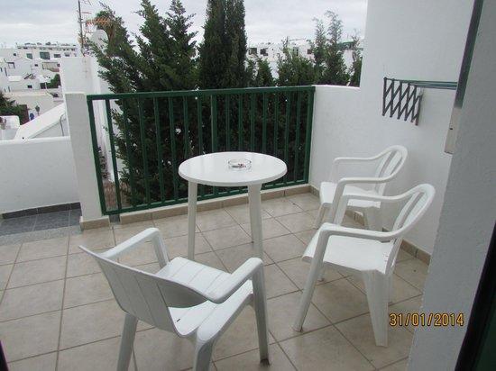 Acuario Sol: patio