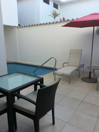 Spice Island Beach Resort: Our own plunge pool