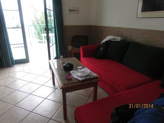 Acuario Sol: livingroom