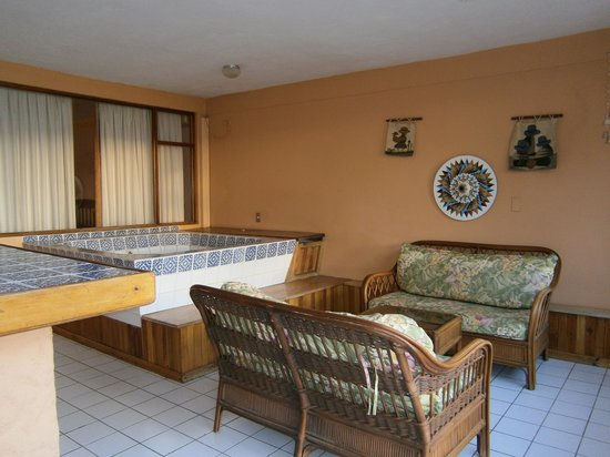 Flamingo Marina Resort: Zona privada de la terraza