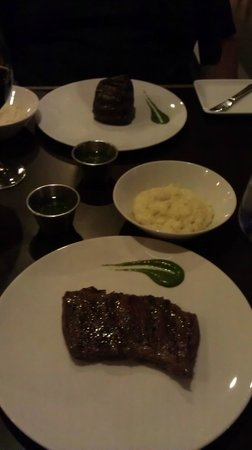 Rausch Restaurant : Meat on a plate