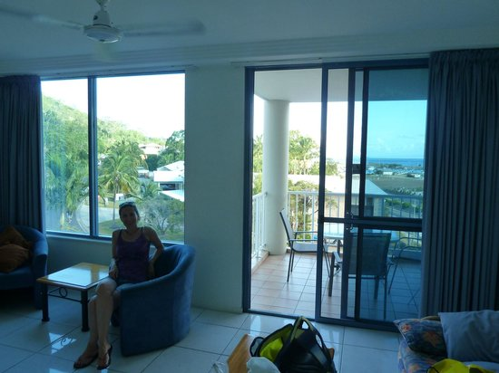 at Whitsunday Vista Resort: Balkon