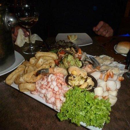 Aqui Jaime: ensalada de mariscos