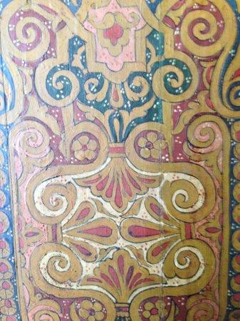 Riad Salam Fes : Painted wood work