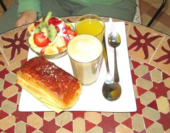 Riad Baraka: Breakfast