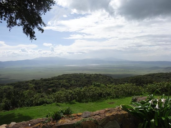 Ngorongoro Sopa Lodge: View of the crater
