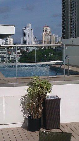 Holiday Inn Express Panama Distrito Financiero: Oasis