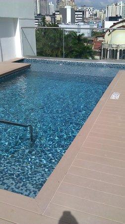 Holiday Inn Express Panama Distrito Financiero: Tiny yet unexpected pool