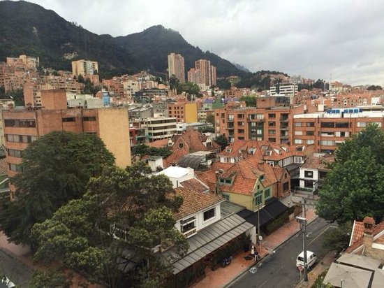 Embassy Suites by Hilton Bogota-Rosales: View from our room