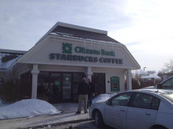 Starbucks outside