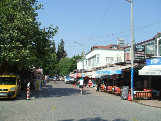 Dalyan Tezcan Hotel: Town