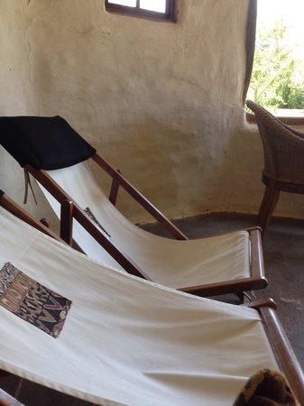 Chrislin African Lodge: De loungeruimte