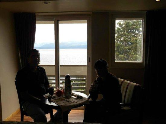 Hotel Alt Interlaken: vista desde la habitacion