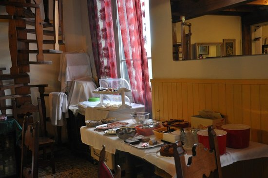 Hotel Fedora: saletta