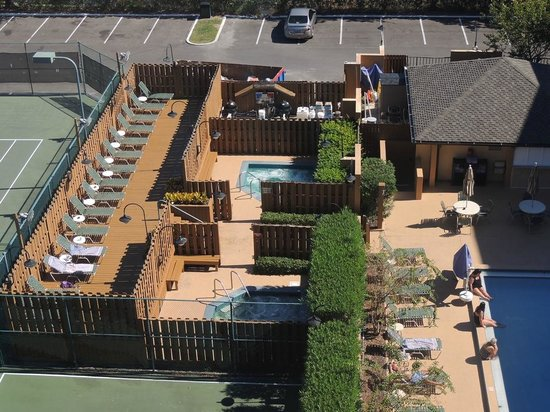Best Western Orlando Gateway Hotel : Vista do quarto
