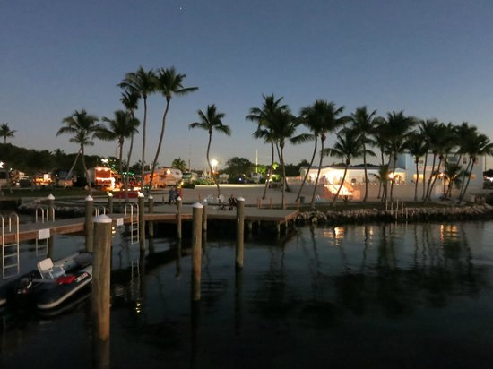 Point of View Key Largo RV Resort : View from dock