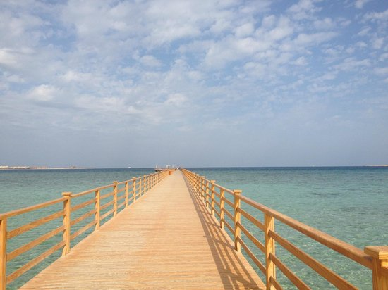 Tropitel Sahl Hasheesh : The beautiful jetty