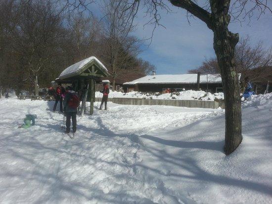Fahnestock State Park: Lodge