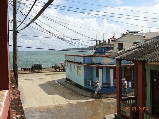 Casa Daniel Perez Carcases : Widok z balkonu
