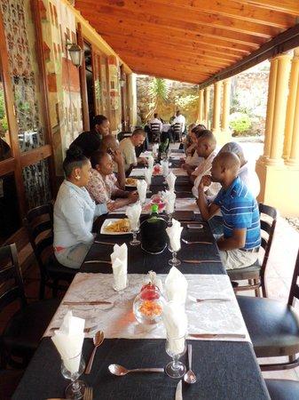Casa Toscana Lodge : Great food in a good restaurant