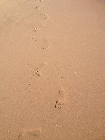 Sandhills Beach Resort & Spa : Чистый приятный песок